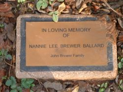 Nannie Lee <i>Brewer</i> Ballard