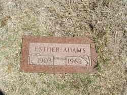Addie Esther <i>Whitlow</i> Adams