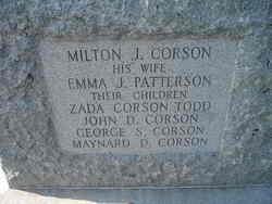 Emma Judith <i>Patterson</i> Corson