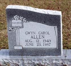 Gwyn Carol Allen