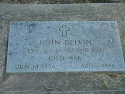 Pvt John Delvin
