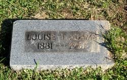 Louise <i>Topp</i> Adams