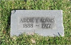 Addie <i>Young</i> Adams