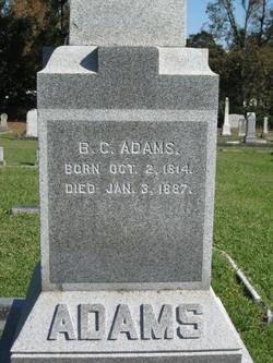 Benjamin Chinn Adams, Sr