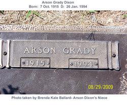 Arson Grady Dixon
