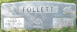Frankie Faye <i>Hillhouse</i> Follett
