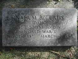 Nahum B. Curtis