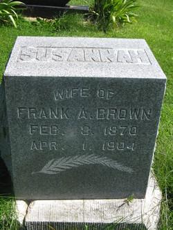 Susannah <i>Dillion</i> Brown