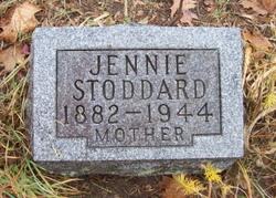 Jennie <i>James</i> Stoddard