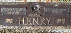 Ruby G. <i>Williams</i> Henry