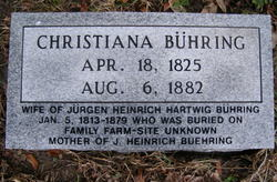 Christiana <i>Kruse</i> Buehring