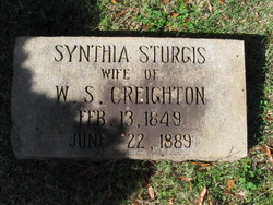 Synthia <i>Sturgis</i> Creighton