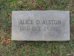Alice <i>Davis</i> Alston
