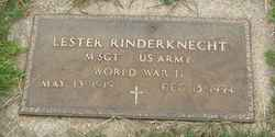 Lester Rinderknecht