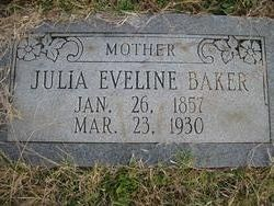 Julia Eveline Baker