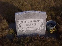 Bonnie Lynn <i>Ambrogini</i> Warner