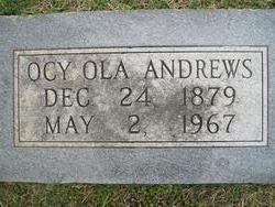 Ocy Ola Andrews
