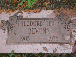 Theodore F Ted Bevens