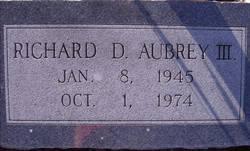 Richard Drew Aubrey, III