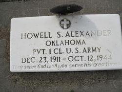 Howell S Alexander