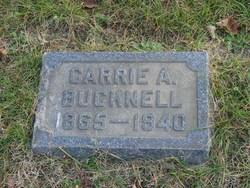 Carrie Alice <i>Pratt</i> Bucknell