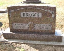 Jessie Maybelle <i>Berger</i> Brown