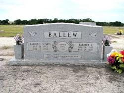 Harold E. <i>Sonny</i> Ballew