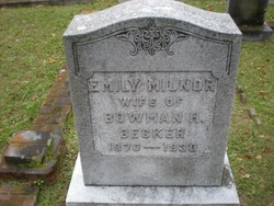 Emily <i>Milnor</i> Becker
