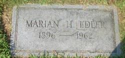 Marian H <i>White</i> Edler
