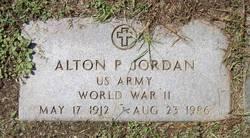 Alton P Jordan