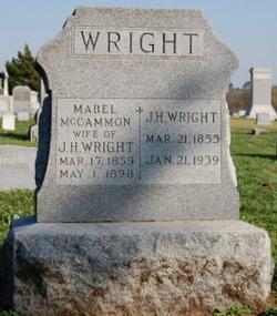 Mabel <i>McCammon</i> Wright