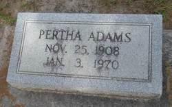 Pertha Adams