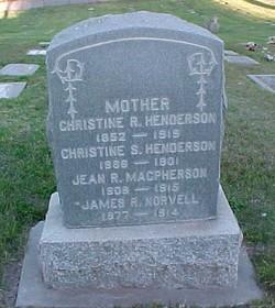 Christine <i>Ross</i> Henderson
