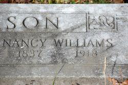 Nancy <i>Williams</i> Anderson