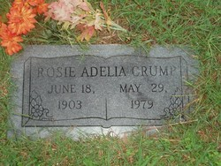 Rosie Adelia <i>Howell</i> Crump
