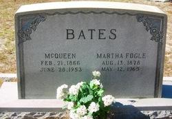 Rosier McQueen Bates