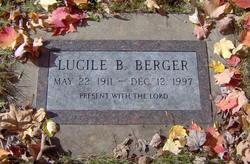 Lucille Bernice Berger