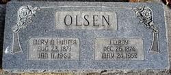 Mary Ann <i>Hunter</i> Olsen