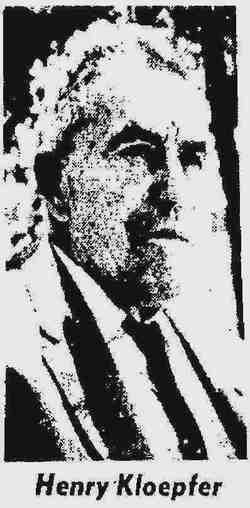 Henry Phillip Kloepfer