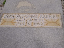 Bert Mitchell Barnes