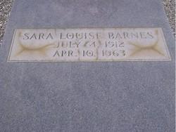 Sara Louise Barnes
