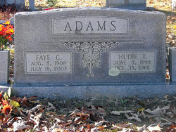 Faye E. <i>Couch</i> Adams