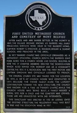 Mont Belvieu Methodist Cemetery