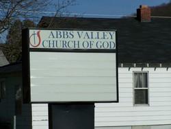 Abbs Valley Church of God Cemetery