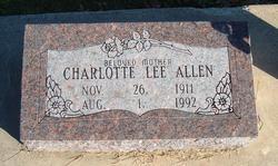 Charlotte Lee <i>England</i> Allen