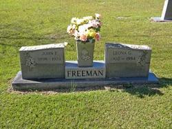 Leona Elizabeth <i>Gibson</i> Freeman