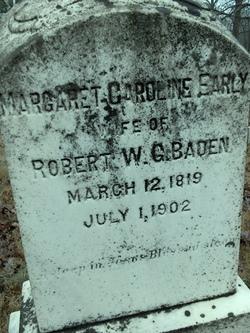 Margaret Caroline <i>Early</i> Baden