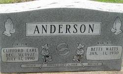 Clifford Earl Anderson