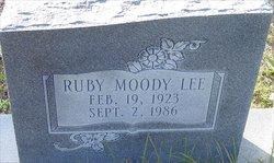 Ruby <i>Sloan</i> Lee