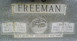 Sallie Caroline <i>Brown</i> Freeman